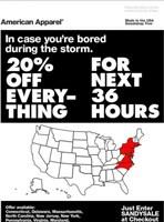 Newsjacking: Hurricane Sandy vs Lance Armstrong