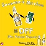 Mitchum is Savanna's new dry friend forever