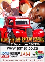 Charity car race to support JAM