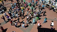 Youth flashmob creates awareness