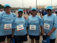Three Cities Peninsula staff walked for CANSA