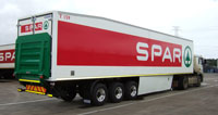 Serco's new trailer for SPAR will reduce CO2 emissions