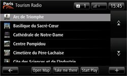 Tourism Radio in Paris