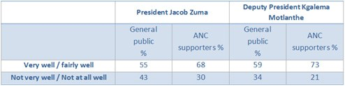Half of ANC supporters worried about leadership issues