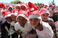 Protea Primary, facing closure, gets Christmas gifts