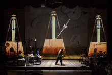 Howard Music back from William Kentridge world tour...