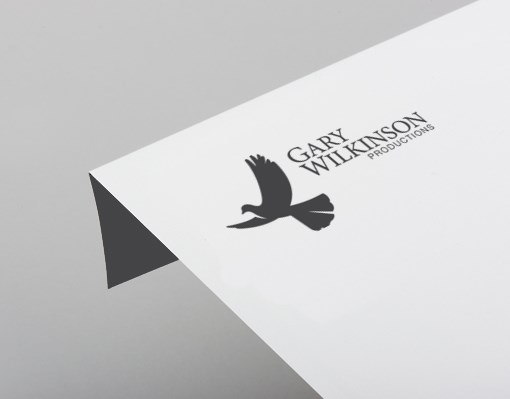 Gary Wilkinson Productions Logo design