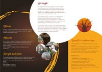 New online business, environment magazine