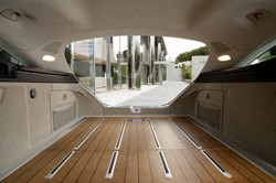 You have a choice of woods for the load bay and the trim.