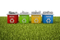 """""""Two-thirds of the more than 2,000 urban South African households surveyed do not know where to dispose of their household recyclables. The majority of the participants in the study said that they do not know how nor what to recycle."""" - CSIR research project leader Wilma Strydom. (Image: )"""