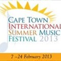 Programme for 2013 Cape Town International Summer Music Festival announced