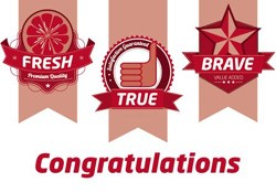 Fresh, True and Brave Awards