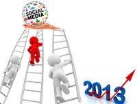 Five ways to ignite your social media presence in 2013