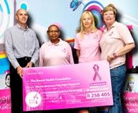 'Pink' tyre fund raises R258,000