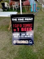 """Trashback"" beer for stompies swap Source:"