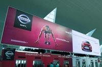Usain Bolt on largest signboard