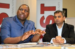 KZN Premier, Zweli Mkhize and POST Editor, Aakash Bramdeo join forces to mobilise communities against drug abuse
