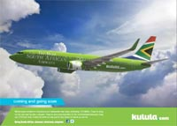 Most South African Airways pulls a few tail feathers