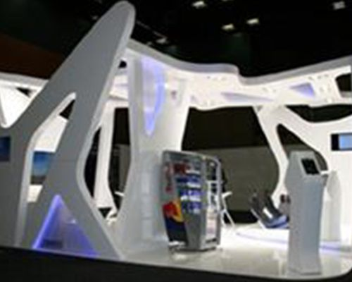 Red Bull trade show activation