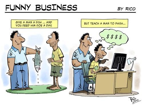 [Funny Business] Phishing
