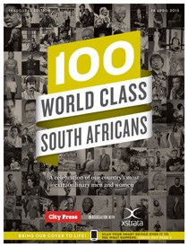City Press celebrates '100 World Class South Africans' - in augmented reality-style