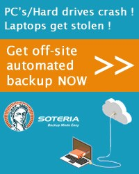 Backup online into the cloud - Automatic online backups with Soteria (68)