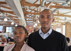 Akhona and Mkhuseli have joined the Boomtown client services team