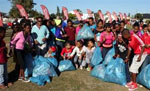 Blackheath Primary pupils clean up canal