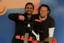 Jean van der Merwe & Jaco Kruger with the Ybike Evolve