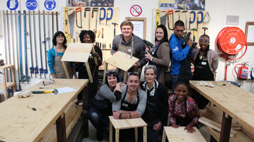 HDI builds for youth this Mandela Day