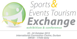 South African Airways show support for the Sports and Events Tourism Exchange 2013