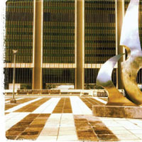 Public art at the Cape Town Civic Centre, by Terry Levin