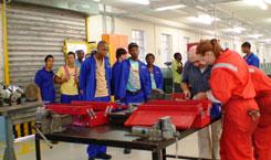 SOTS students visit the FBC Workshops