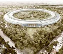 Apple's planned new headquarters. Image: