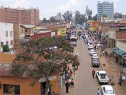 Central Kigali. Image: Wiki Images
