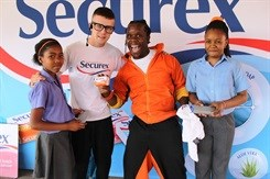 Securex promotes healthy and hygienic hands
