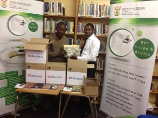 UCKG donates books to correctional centre libraries
