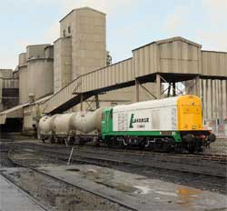 Lafarge's Hope factory. Results for the company disappointed analysts. Image: Wiki Images