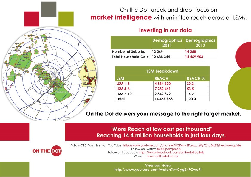 On the Dot Pamphlets release updated demographic data