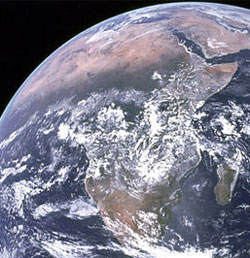 Africa... a vast continent - and it needs its stories to be told, the good and the bad. (Image: NASA)