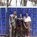 Hout Bay school receives lockers