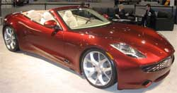 The Fisker Sunset. Fisker Automotive has filed for bankruptcy protection. Image: Wiki Images