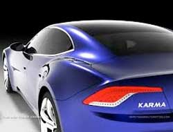 The Fisker Karma battled to attract buyers but did get plenty of attention. Image: