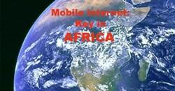 Mobile internet key in Africa