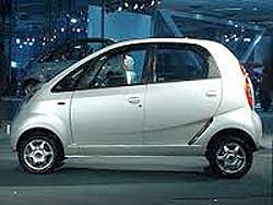The original Tata Nano, launched as the world's cheapest car at a price of US$1,600. Image: Wiki Images