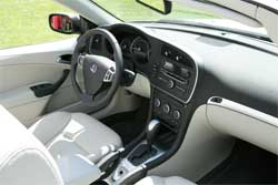 Quality finish for the interior of a Saab convertible. Image: Wiki Images