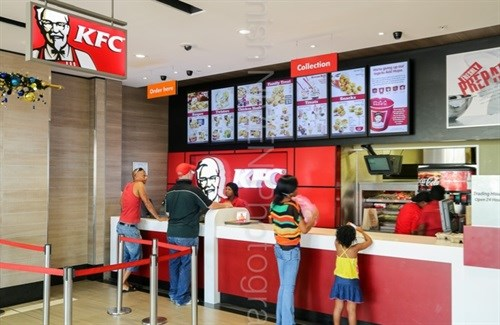 KFC's digital menu network grows to over 5000 screens