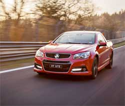 The Holden Ute range that are a hallmark of the brand. Holden says it will stop producing cars by 2017. Image: