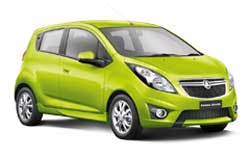 The Holden Burina Spark, one of many small cars in its range. Image: