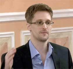 Fugitive Edward Snowden exposed the NSA's mass collection of private telephone data. Image: Wiki Images